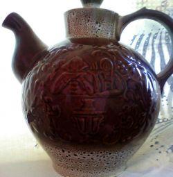 Big kettle, three liters. The USSR.