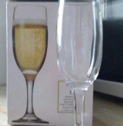 New champagne glasses