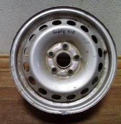 R15 Oem 2K0601027B Volkswagen wheel (skl-3)