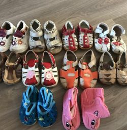 Παπούτσια σανδάλια για κορίτσι