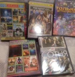DVD фільми, серіали.