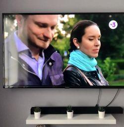 Большой телевизор 140 см 4K android гарантия