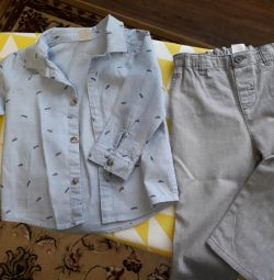 Shirt and pants (p .80)