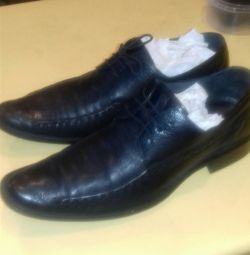 Shoes for men, leather, size 46