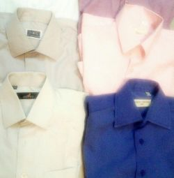 Shirts p29,31,32 for 6-8 years