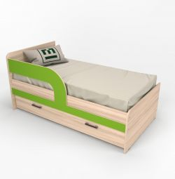 Children's bed Sofa 5 Lime