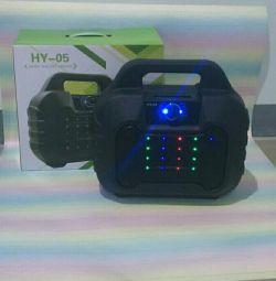 Acoustics bluetooth, FM, MP3