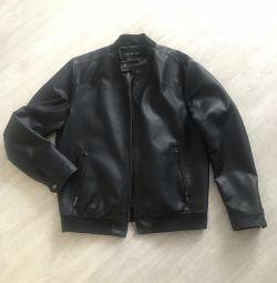 Deri ceket ZARA