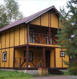 I rent a cottage with a sauna and billiards