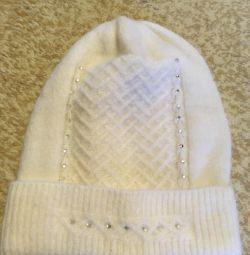 Καπέλο χειμώνα (νέο, ζεστό)