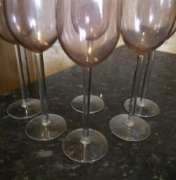 Wineglasses and glasses