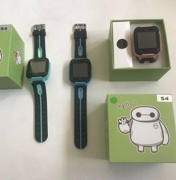 Дитячі годинники Smart baby watch S4
