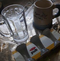 Mugs and Shot Glasses