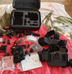 Soocoo c100 action camera + kit