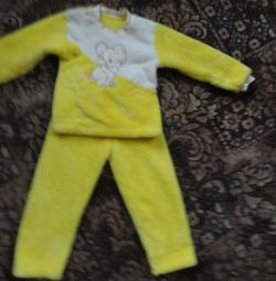 Terry suit for 4 - 5 years