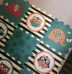 Carpet puzzles for kids