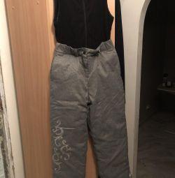 Transformatör kız için pantolon
