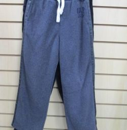 Trousers GapKids fleece with leather