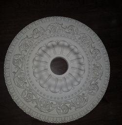 Потолочные розетки,декор под люстру на потолок