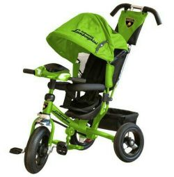 Νέα. Παιδική ποδηλάτων Lamborghini πράσινο L2