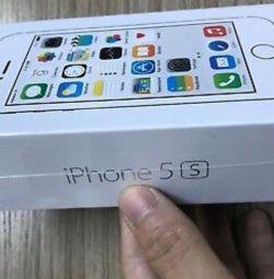 New iPhone 5s (64gb), white