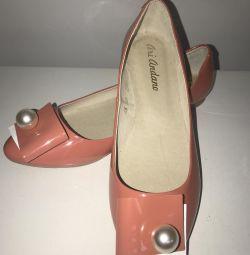 Nou. pantofi de balet rr 37