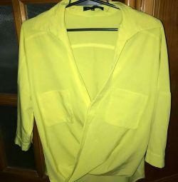 Interesting blouse.
