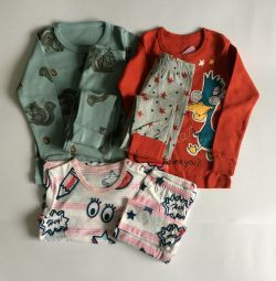 Pijamale noi 88-100 cm