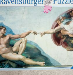 Puzzles1000el. Creation of Adam
