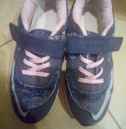 Sneakers zebra.