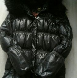 Down jacket.