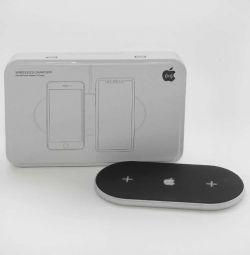 Беспроводное зарядное устройство iPhone 2 в 1