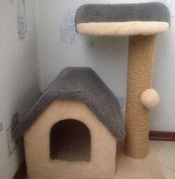 Будиночок для кішки