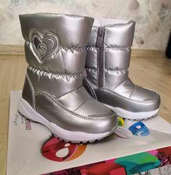 Χειμώνας παιδικές μπότες νέα