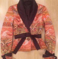 Jacket-jacket for women. Cloth silk.