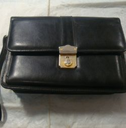 purse men's leather