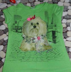 T-shirt για το κορίτσι, μέγεθος 104