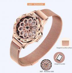 Wristwatch Flower Diamond new