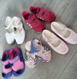 Κορίτσι παπουτσιών 23-24