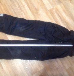 Pantaloni de iarna pentru bebelusi timp de 6-8 ani.