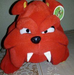 Jucărie moale de câine furios nou