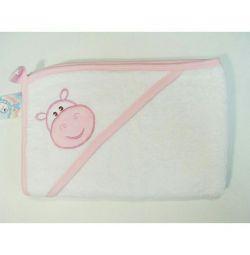 Μωρό πετσέτα Hippo