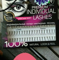 False Eyelashes / Bundles