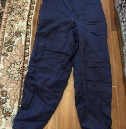 Τα παντελόνια τσαγιούσαν τους εργαζόμενους του ανθρώπου r. 48-50