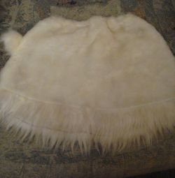 HARE-Skirt with a tail, for the New Year's costume.