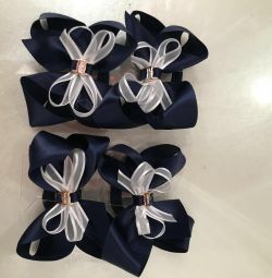 Bows with an elastic band