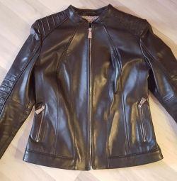 Шкіряна куртка нова