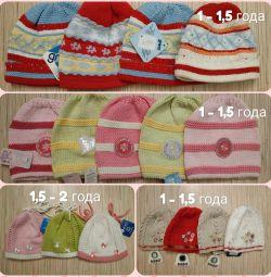 1 - 2 yıl çocuk şapkası, YENİ