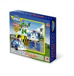 Puzzles Robocar Poli (100 e.)