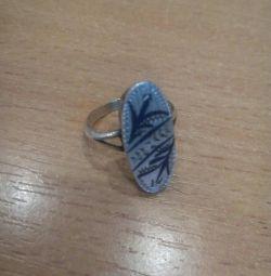 Ring silver 875 pr.